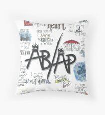 Fall Out Boy Lyric Art Throw Pillow