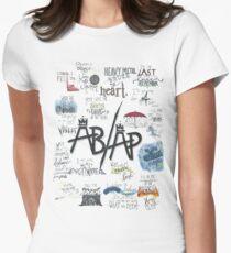 Fall Out Boy Lyric Art Women's Fitted T-Shirt