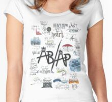 Fall Out Boy Lyric Art Women's Fitted Scoop T-Shirt