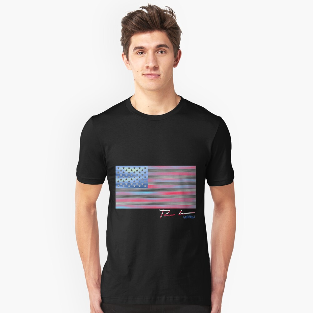 Ron Hedges - Flag 49 Unisex T-Shirt Front