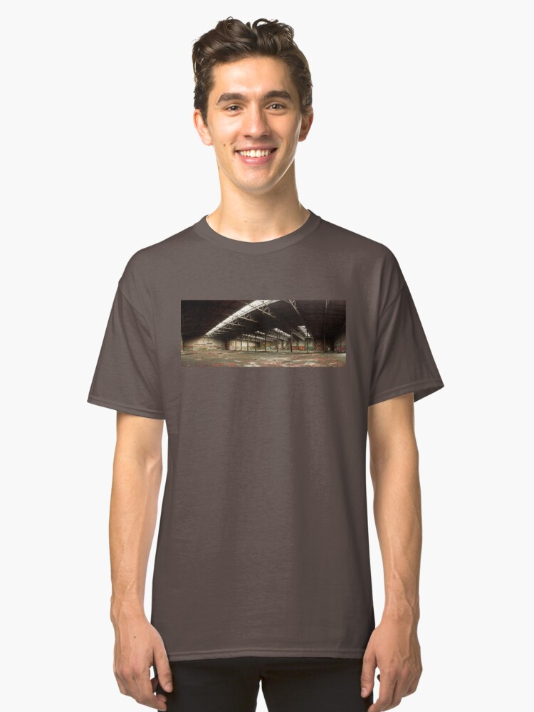 Locomotive depot Classic T-Shirt Front