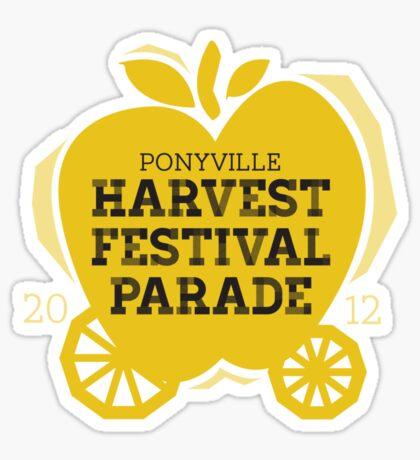 Harvest Festival Parade 2012 Sticker