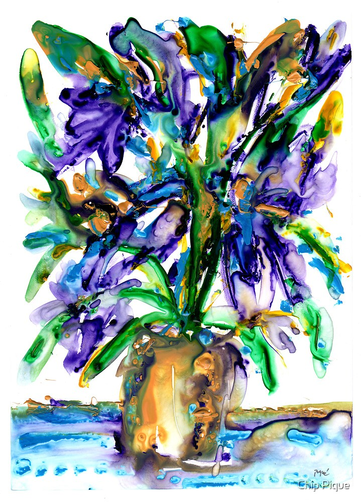 watercolor 72 by Chip Pique