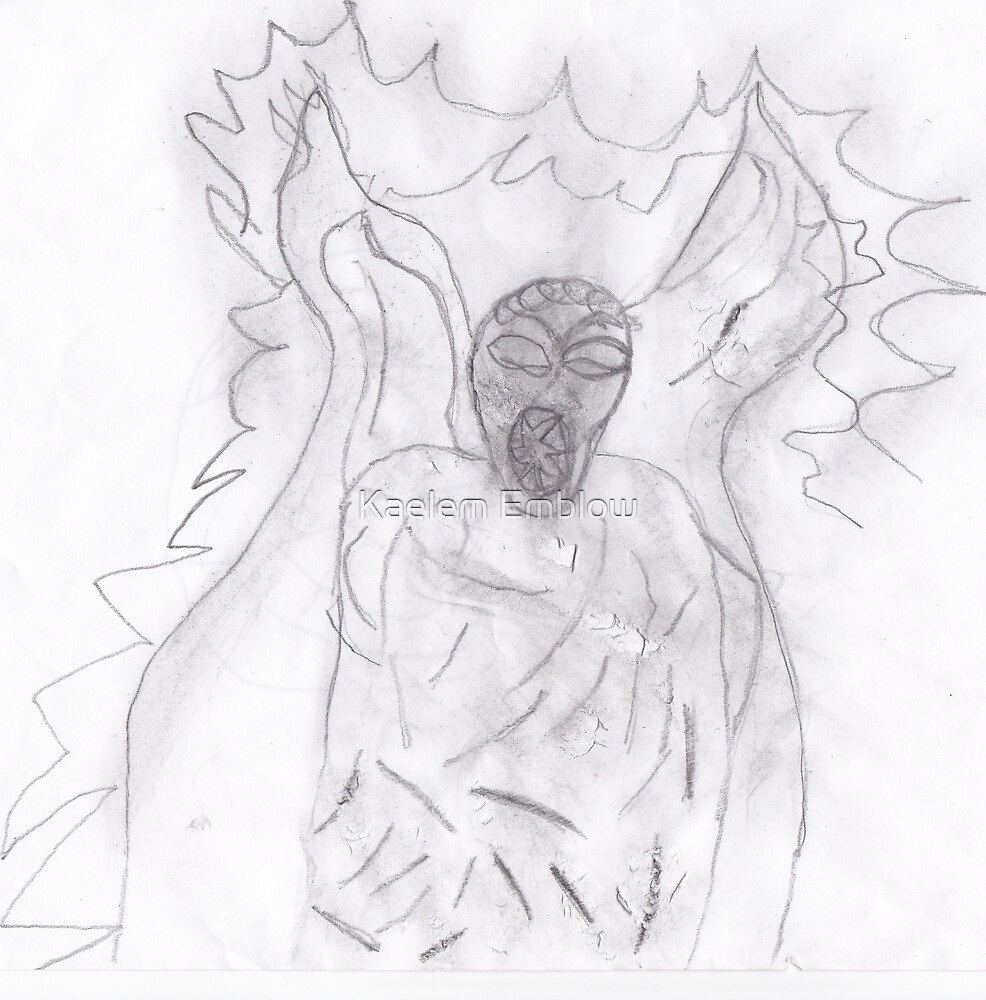 Weeping angel  Favourite  creatures from Dr who  by Kaelem Emblow
