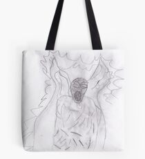 Weeping angel  Favourite  creatures from Dr who  Tote Bag