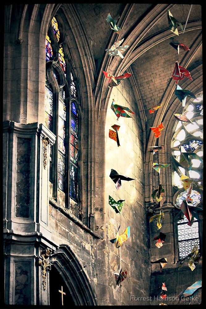 Saint-Merri, Paris, France by Forrest Harrison Gerke