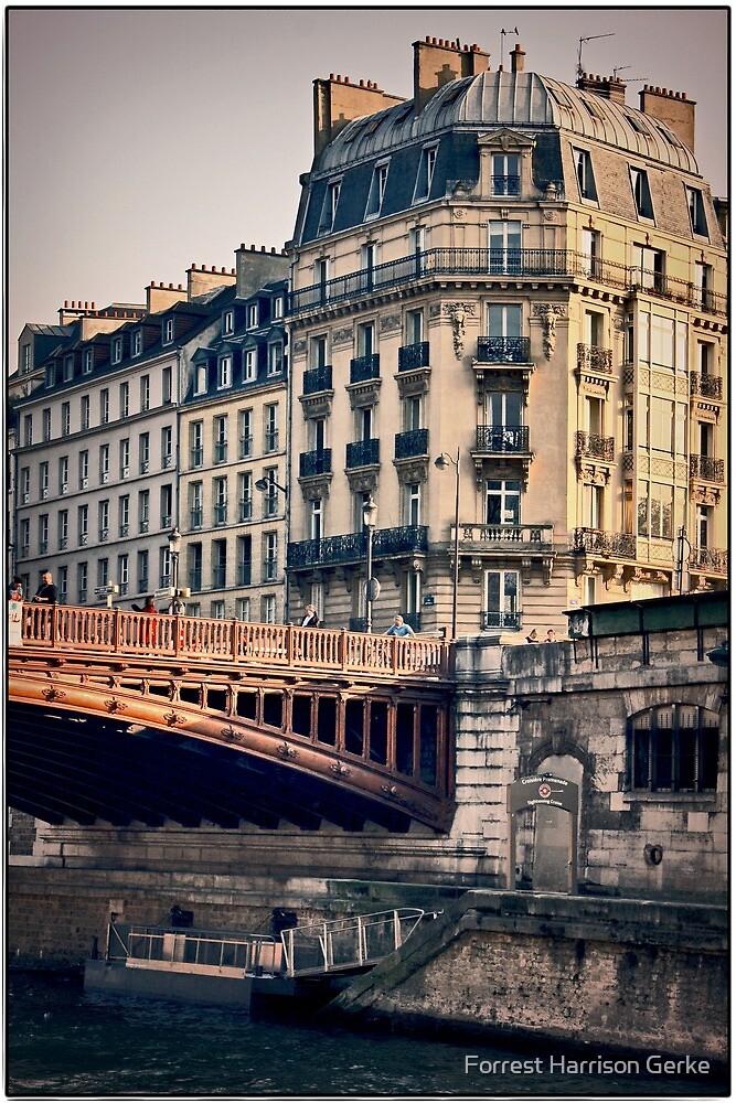 Left Bank, Paris, France by Forrest Harrison Gerke