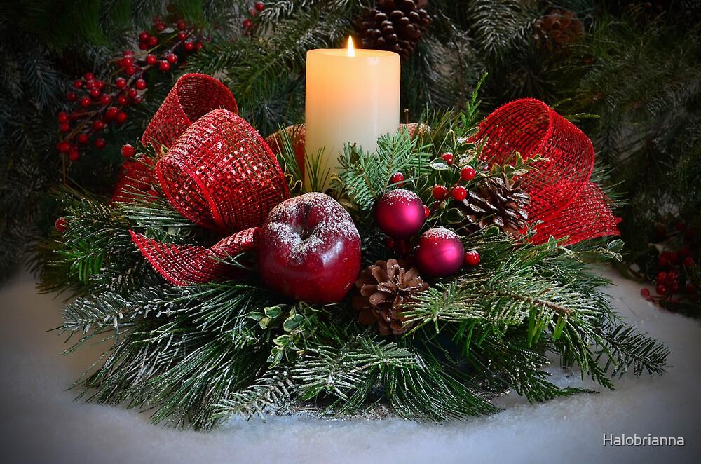 Merry Christmas by Halobrianna