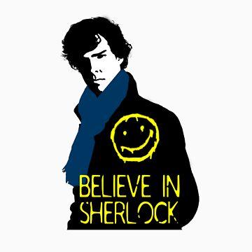 Believe in Sherlock by cooliounicorn