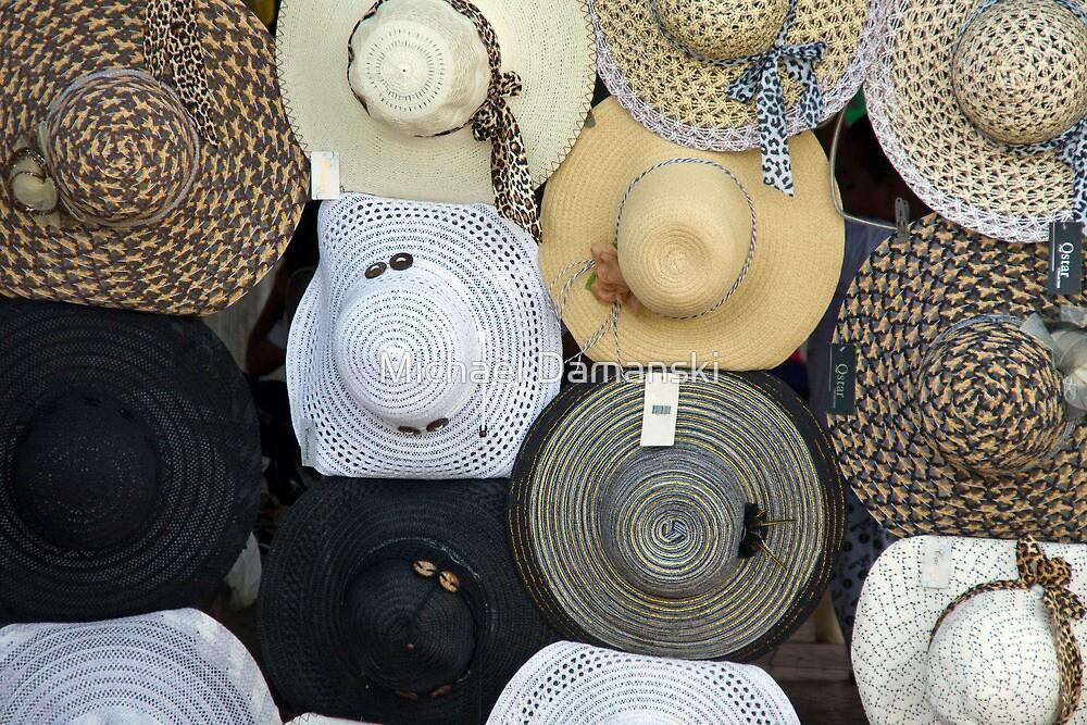 Costa Rican Hats by Michael Damanski