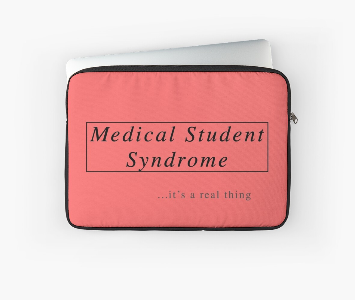 Fundas para portátil «Síndrome del estudiante de medicina» de ...