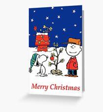 Charlie Christmas Tree Greeting Card