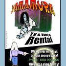 Yamamura TV & Video Rental by Malcolm Kirk