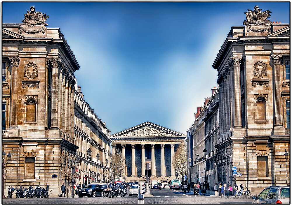 Place de la Madeleine, Paris by Forrest Harrison Gerke