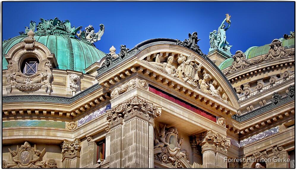 Paris Opera House by Forrest Harrison Gerke