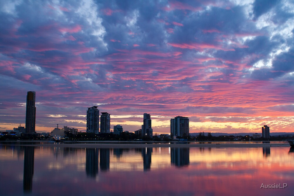 Broadwater Sunset by AussieLP