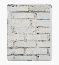 Soft image of a background of gray brick wall iPad Case/Skin