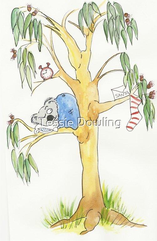 Koala Christmas by Tessie Dowling