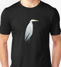Heron Pattern Unisex T-Shirt