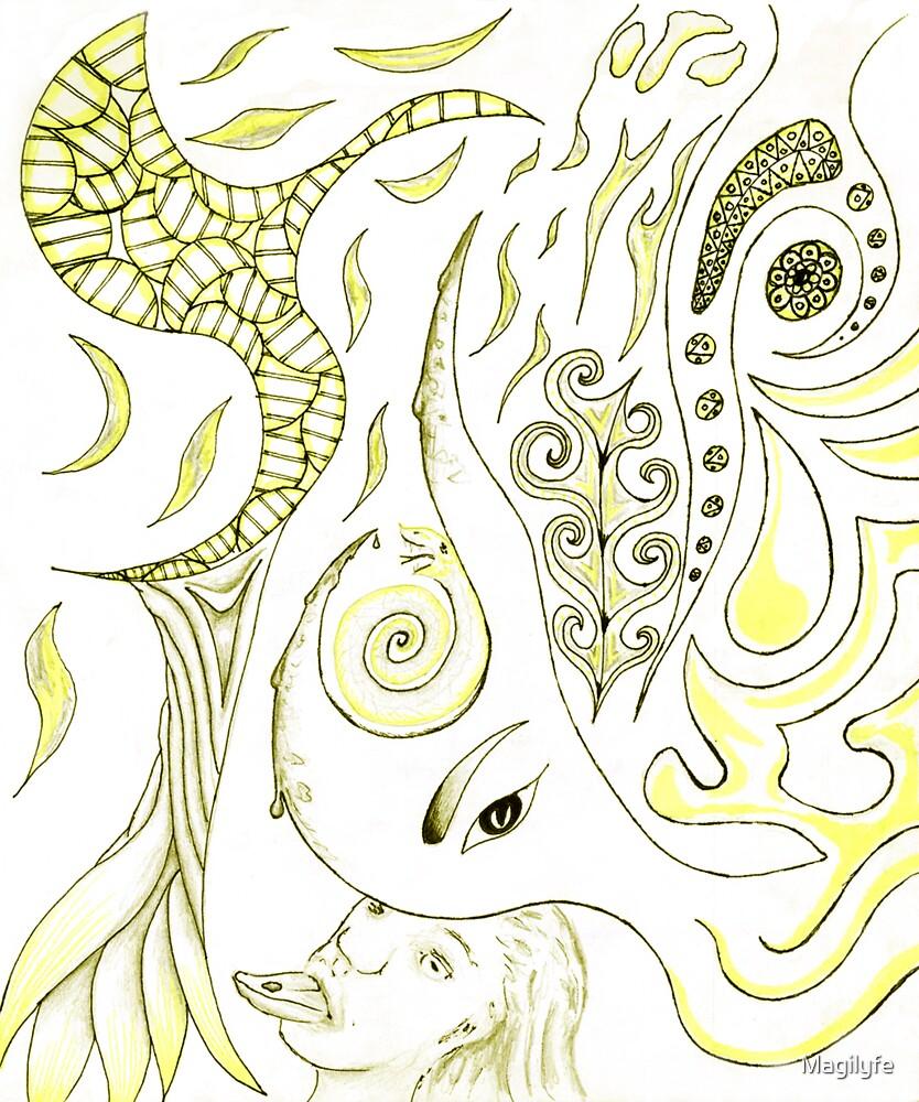 Kali worship by Magilyfe