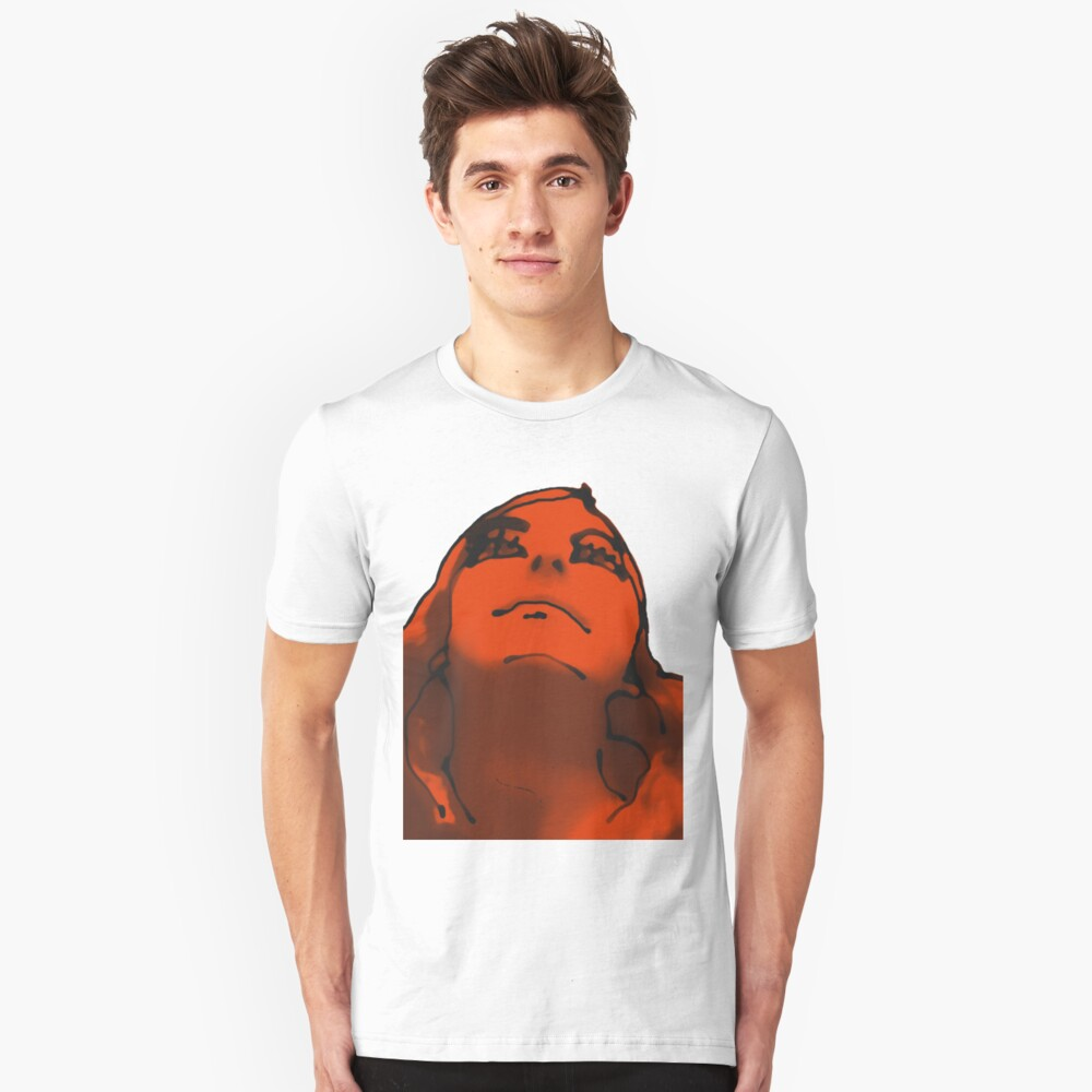 AWARE of Red Unisex T-Shirt Front