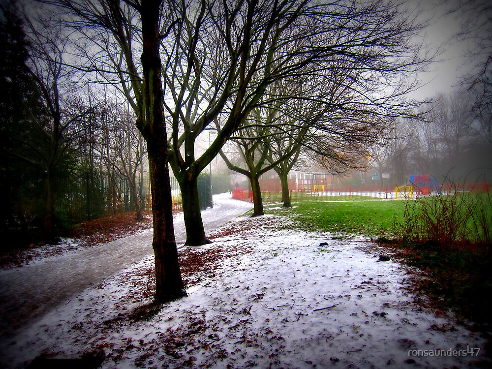 Path leading to the playground... by ronsaunders47