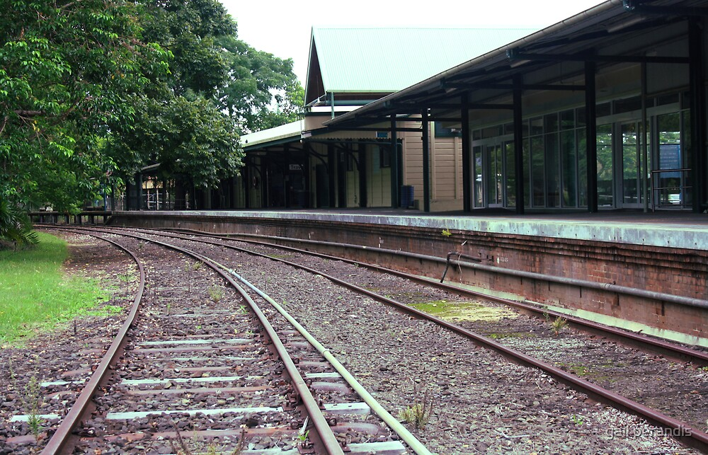 murwillumbah train station .. by gail woodbury