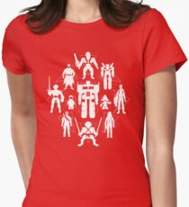 Plastic Heroes V2 Women's Fitted T-Shirt