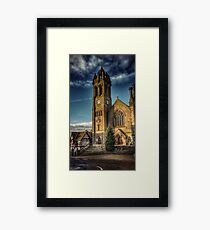 Peebles Parish Church Framed Print