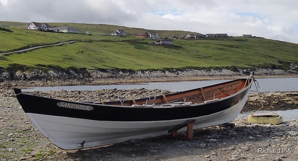 'Tara', A Shetlandic 'sixareen' by Richard Ion