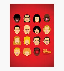 'Pulp Fiction' Photographic Print