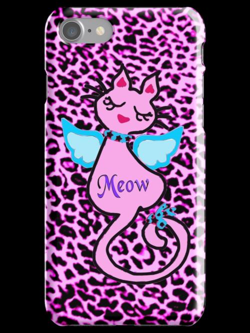 ღ°㋡Swanky-Angelic Cat Fantabulous iPhone & iPod Cases ㋡ღ° by Fantabulous
