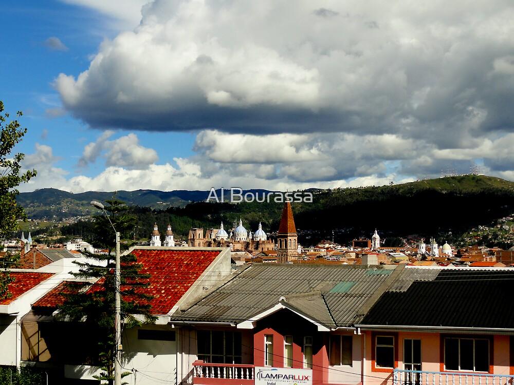 El Centro Churches in Cuenca by Al Bourassa