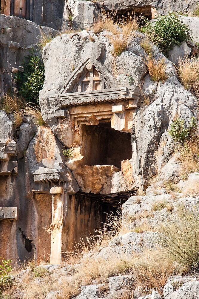Church Entrance in Lycean Ruins, Turkey by Robert Kelch, M.D.