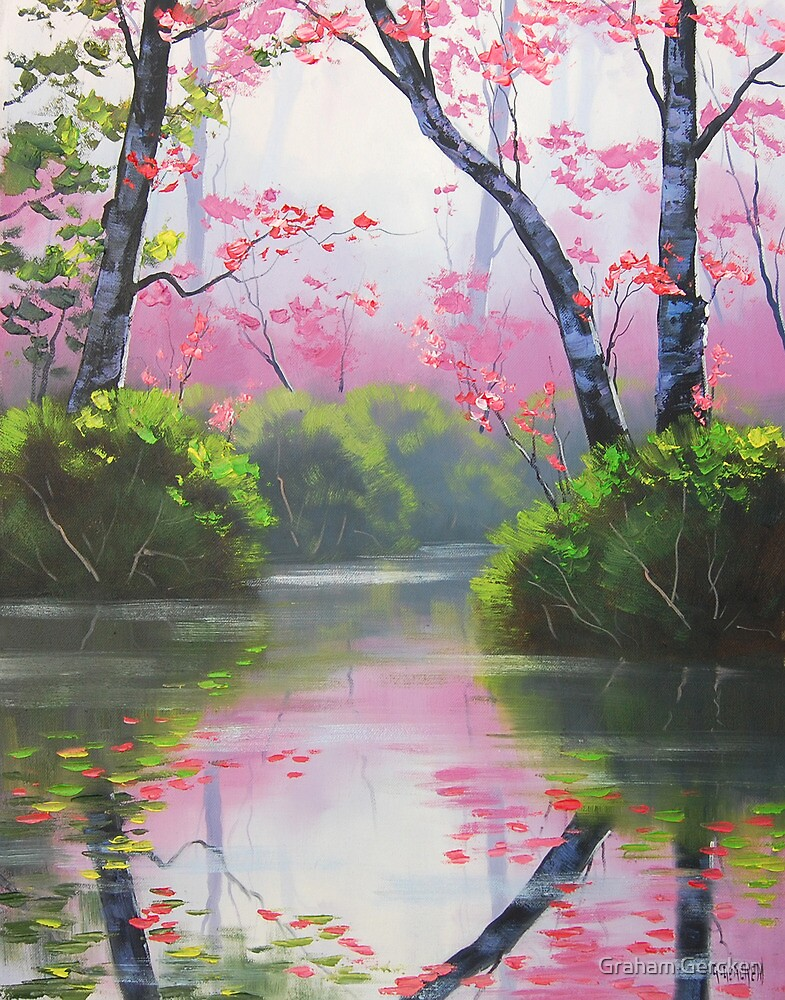 Peaceful River by Graham Gercken