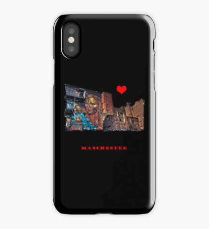 Colourful Manchester iPhone Case/Skin