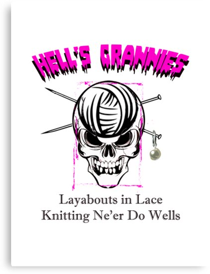 Knitting Ne'Er Do Wells by zamix
