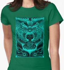 UV Meltdown  Womens Fitted T-Shirt