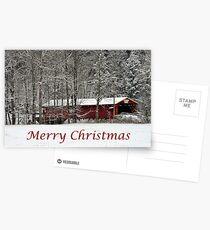 Merry Christmas Card Postcards