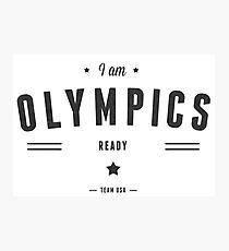 olympics Photographic Print