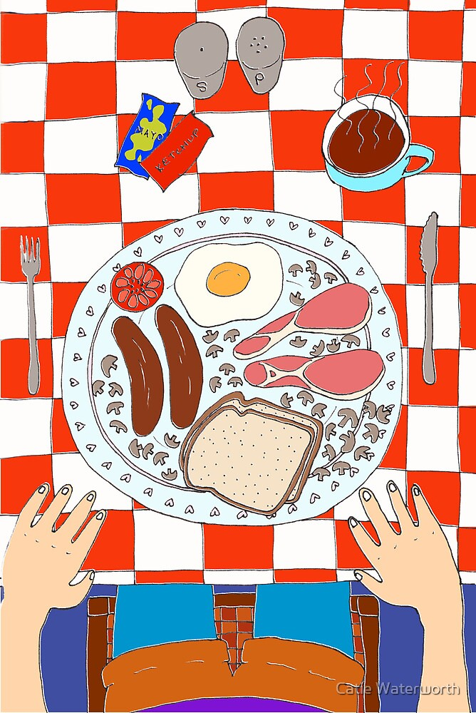 Breakfast by Catie Waterworth