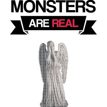 monsters are real (weeping angel version 1) by dclete