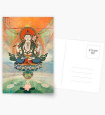 Buddha Meditation Postcards