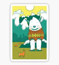 The Big 3: Yeti Sticker