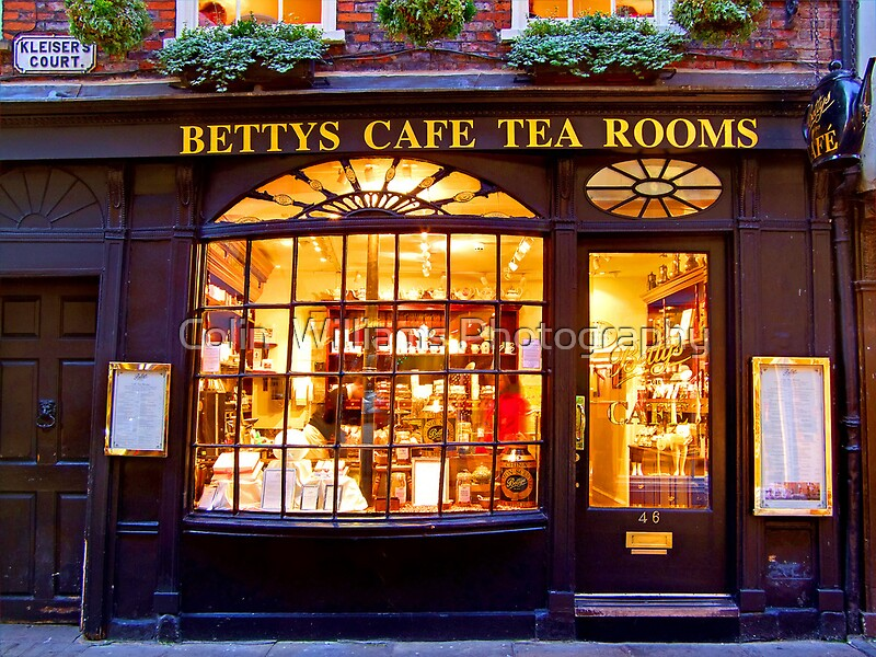Quot Bettys Tea Room Stonegate York Quot Art Prints By Colin