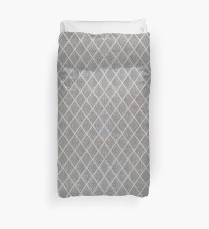 Rhombus lattice 1 Duvet Cover