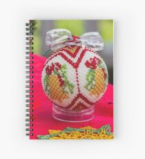 decorations for Christmas tree Spiral Notebook