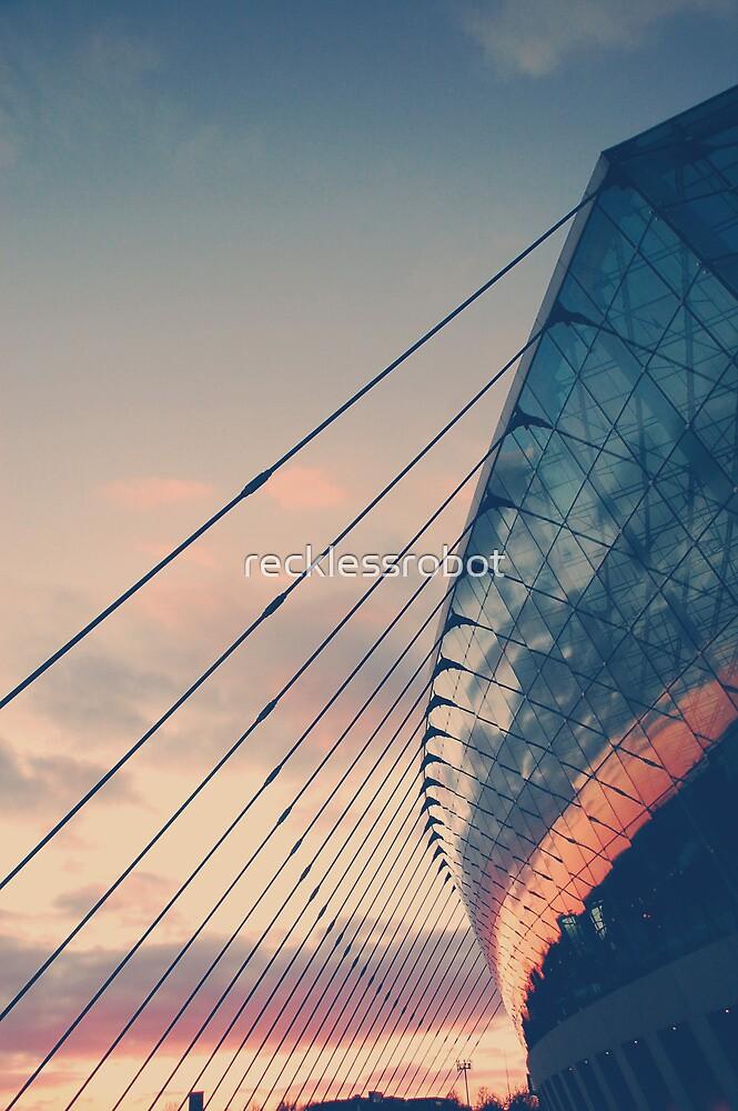 city dusk by recklessrobot