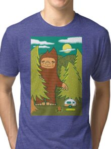 The Big 3: Big Foot Tri-blend T-Shirt