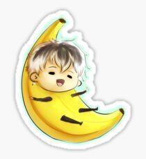 Pegatina Haise de plátano